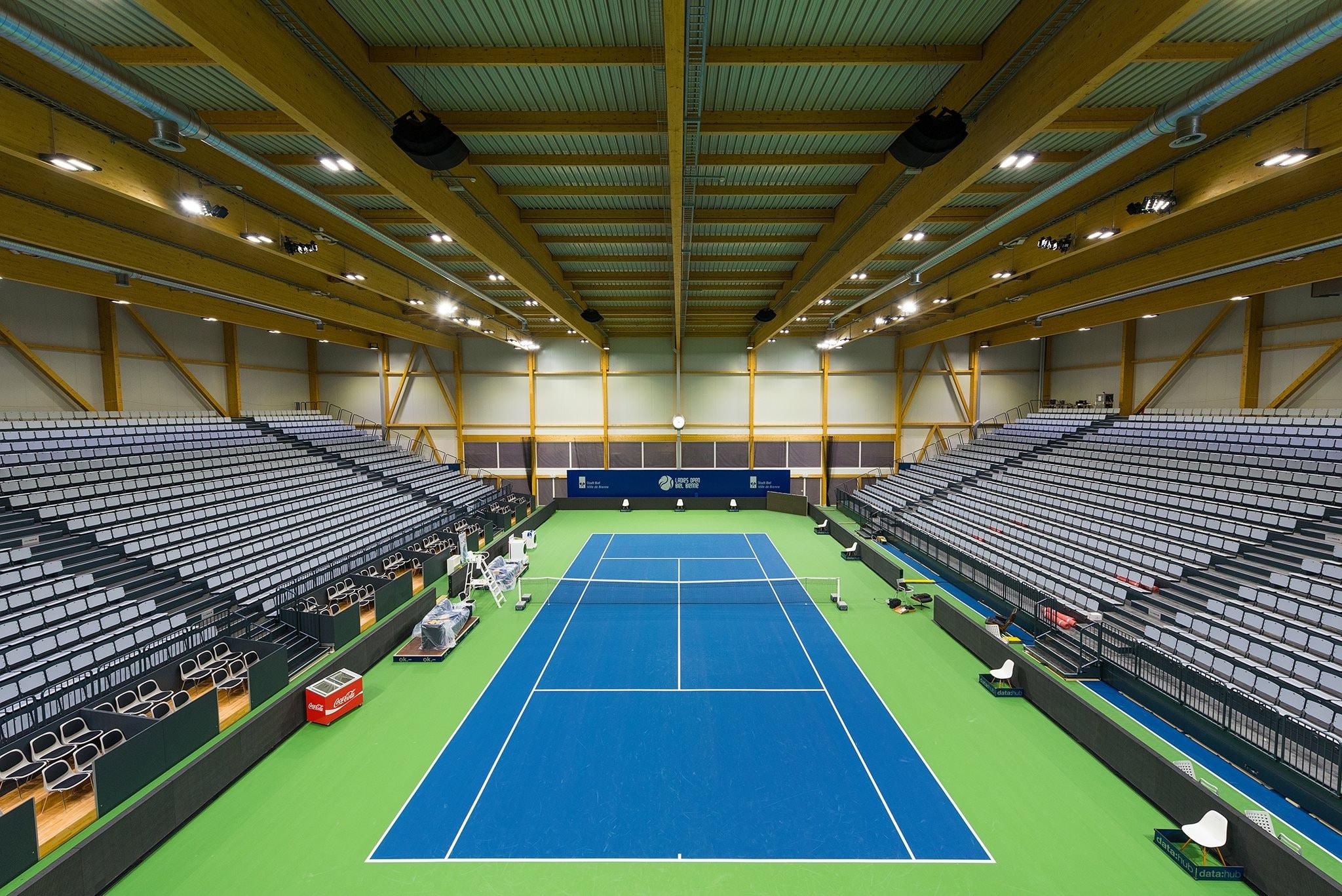 Bild der Swiss Tennis Arena