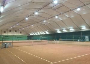 Bild des Tennisplatzes der TCM Münchenstein AG
