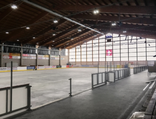 Rigihalle mit bester LED Beleuchtung
