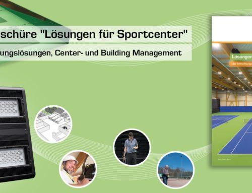 Neue Broschüre Lösungen für Sportcenter
