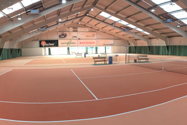Bild der Indoor-Anlage des Sportcenters Leuggern