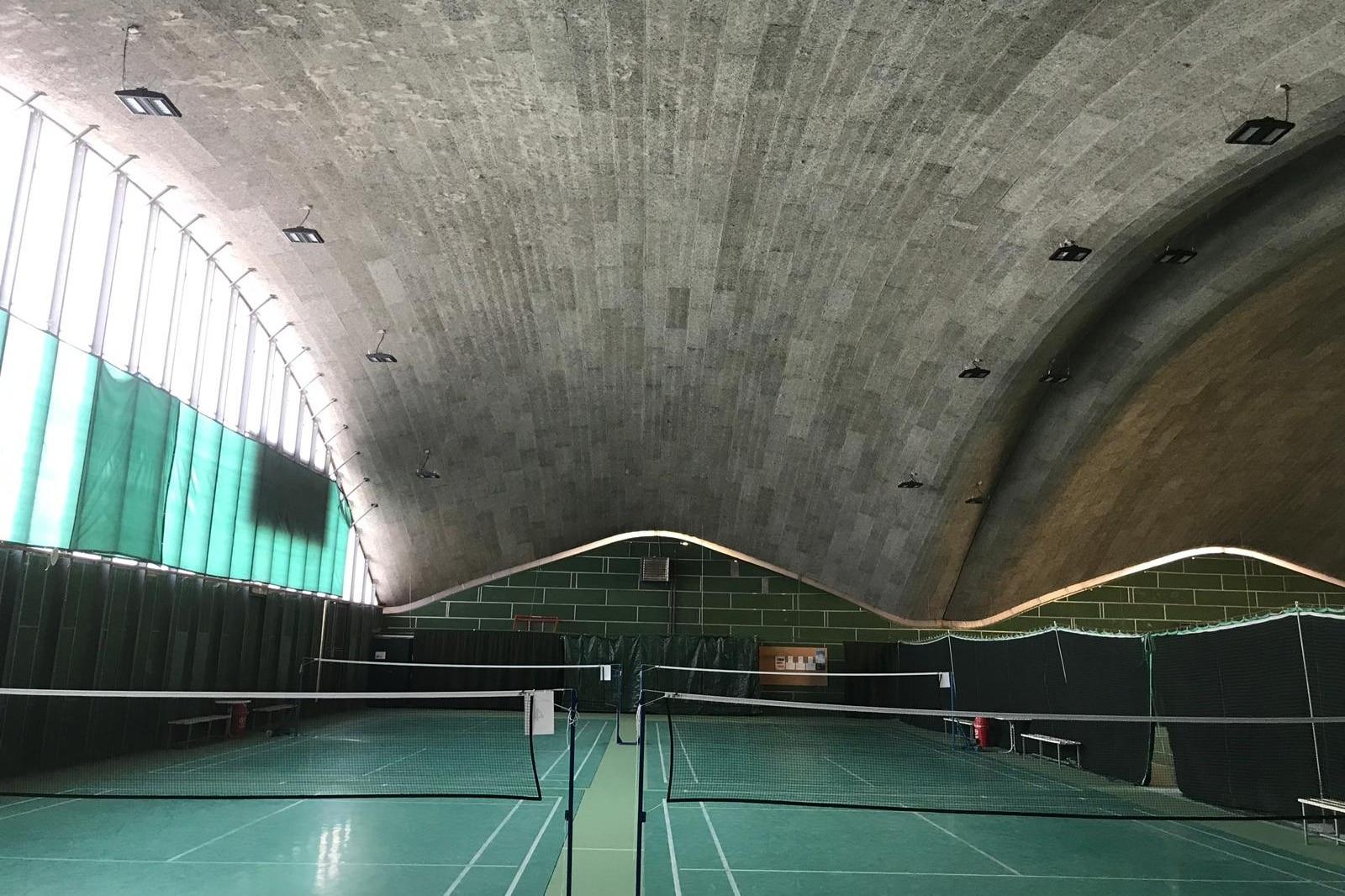 Bild der Innenansicht des centre sportif Marin-Epagnier