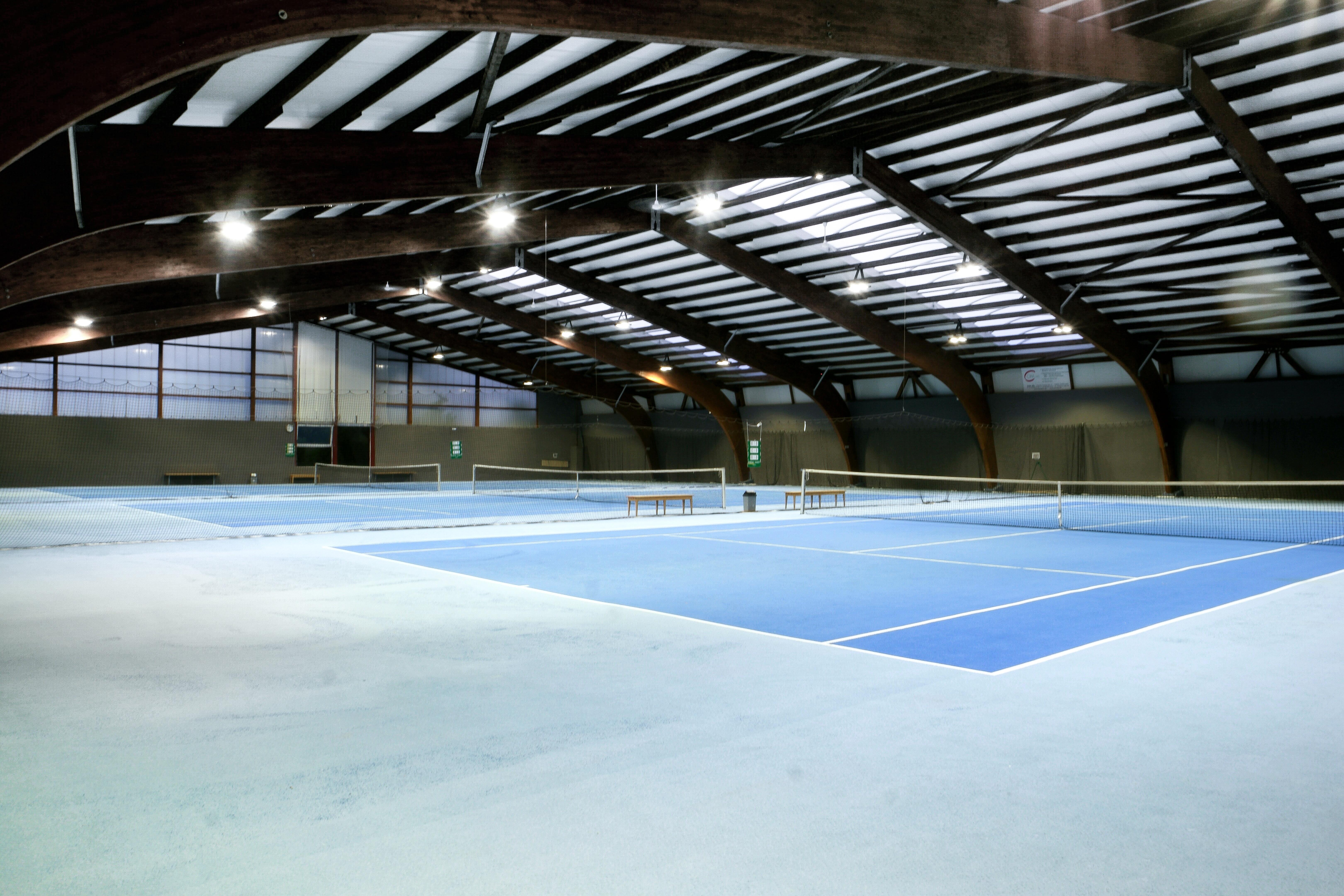 Bild des Innensportplatzes des Sportcenters Rottweil