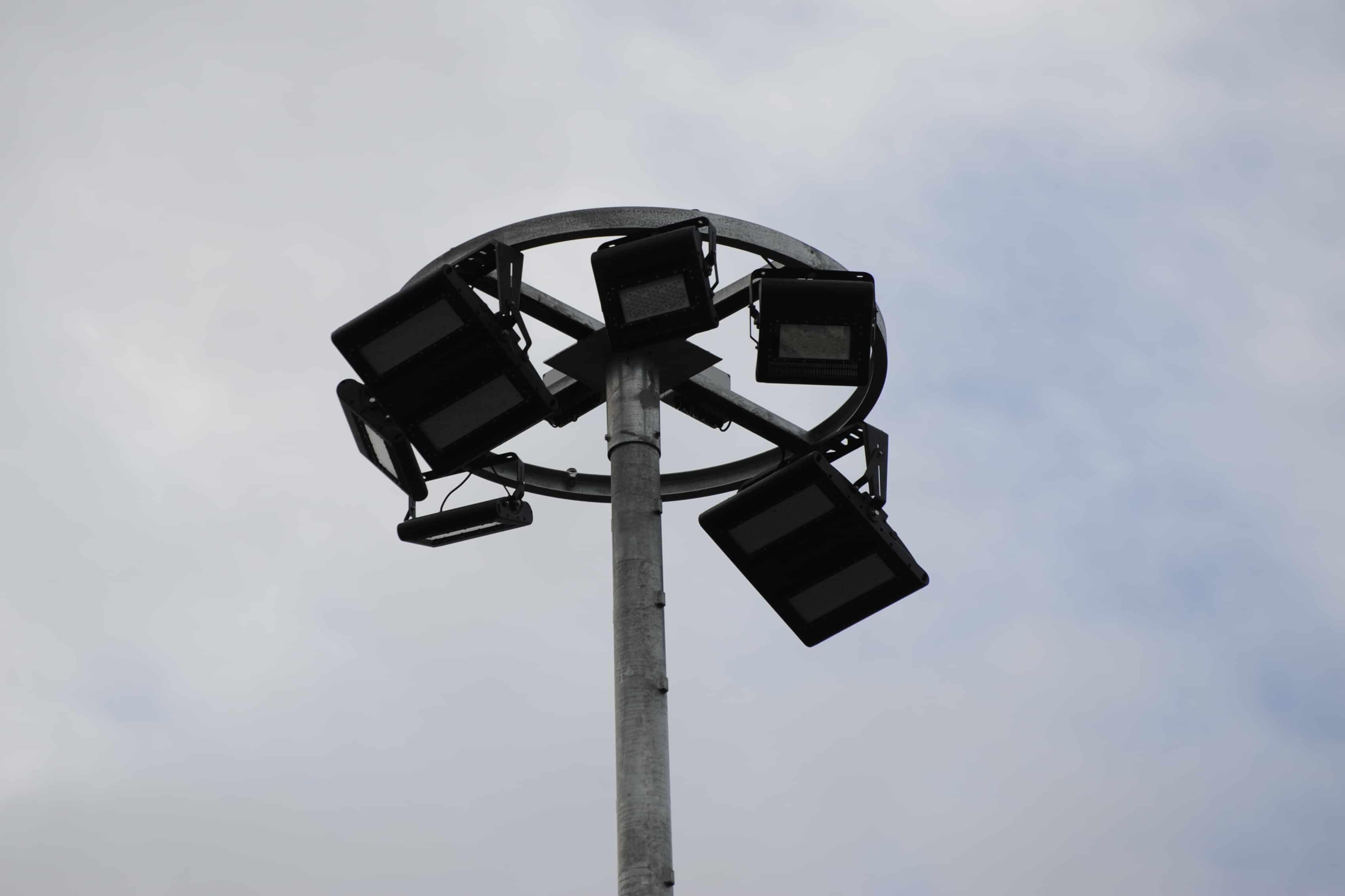 Bild einer verwendeten Leuchte bei der Firma PanGas in Dagmersellen