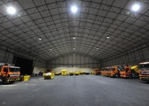 Bild der Industriehalle der Leisibach Entsorgung AG