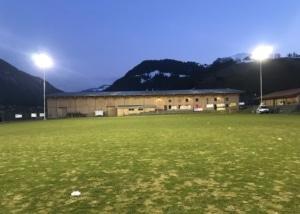 Fussballplatz im Obersimmental