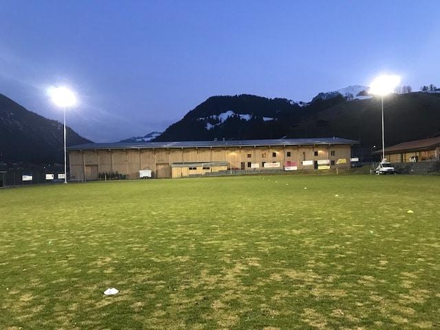 Bild des Fussballplatzes im Obersimmental