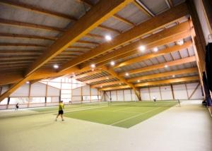 Tennisplatz im Sportcenter Tellimat