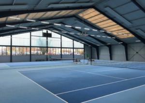 Tennisplatz in der Sportgemeinde 1886 e.V. Weiterstadt