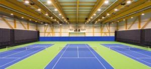 Tennishalle Musterhausen