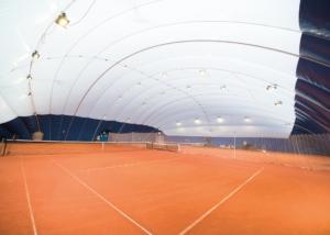 Bild der Tennisanlage in Horw