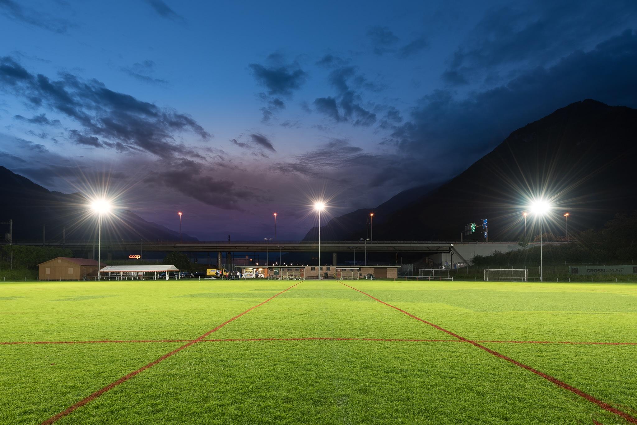 Fussballplatz in Arbedo