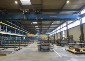 Bild der Industriehalle der Schmolz + Bickenbach AG in Luzern