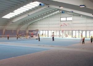 Foto des Tennisplatzes des Sonnmatt Sportcenters in Rickenbach bei Wil