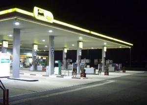 Bild einer Agip-Tankstelle
