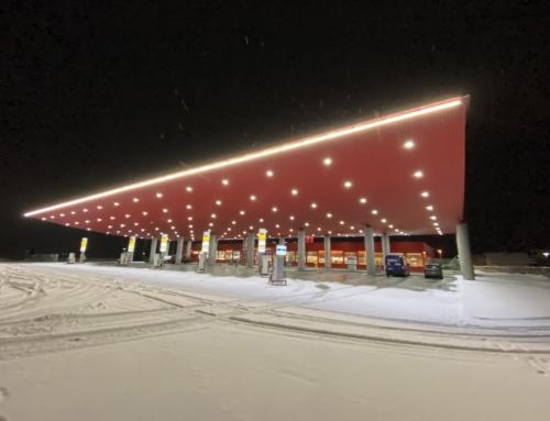 Eni-Tankstelle Ambrì