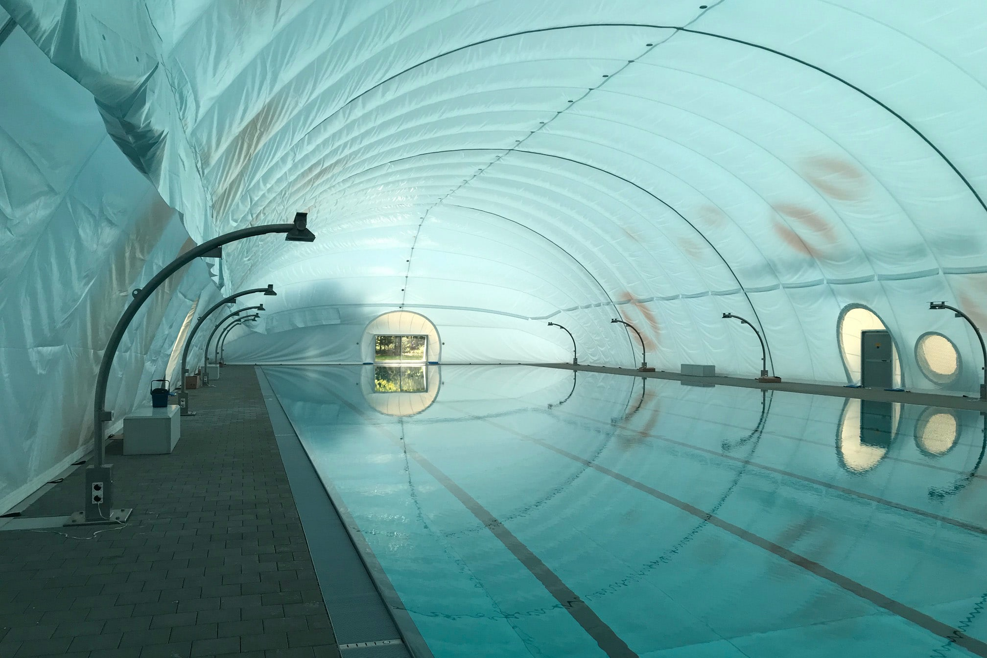 Bild des Schwimmbades des Sportzentrums Zuchwil