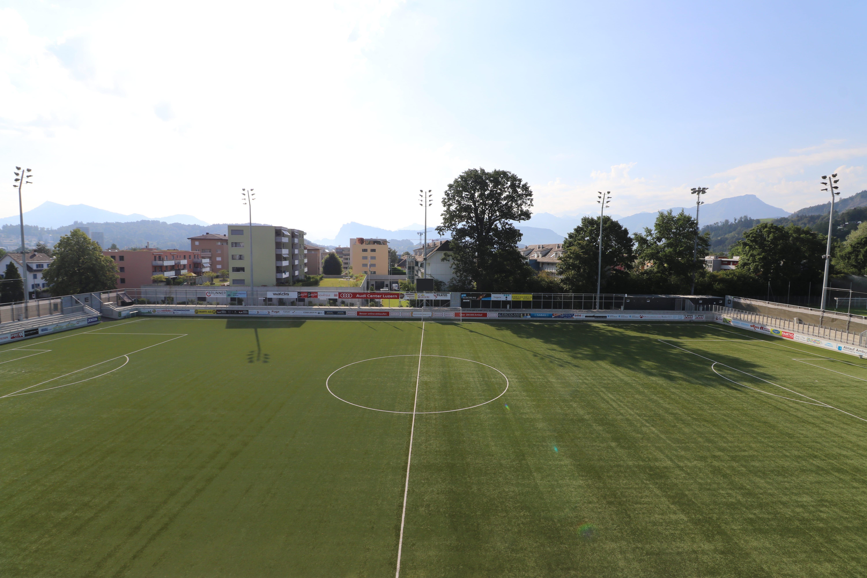 Foto des Stadions Kleinfeld in Kriens