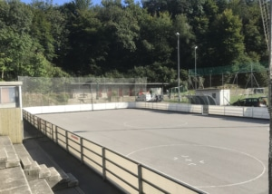"Bild des Inlinehockey-Felds des Clubs ""Malcantone"" in Agno"