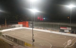 Bild der Inlinehockey-Aussenanlage des Clubs Paradiso Tigers