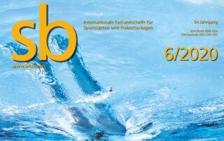 """Bild der Frontseite der Dezember-Ausgabe der Zeitschrift """"sb"""""""