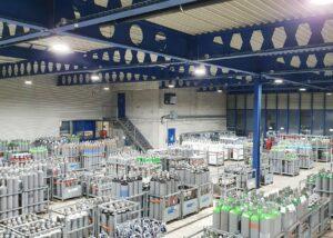 Bild der Industriehalle in der PanGas in Dagmersellen