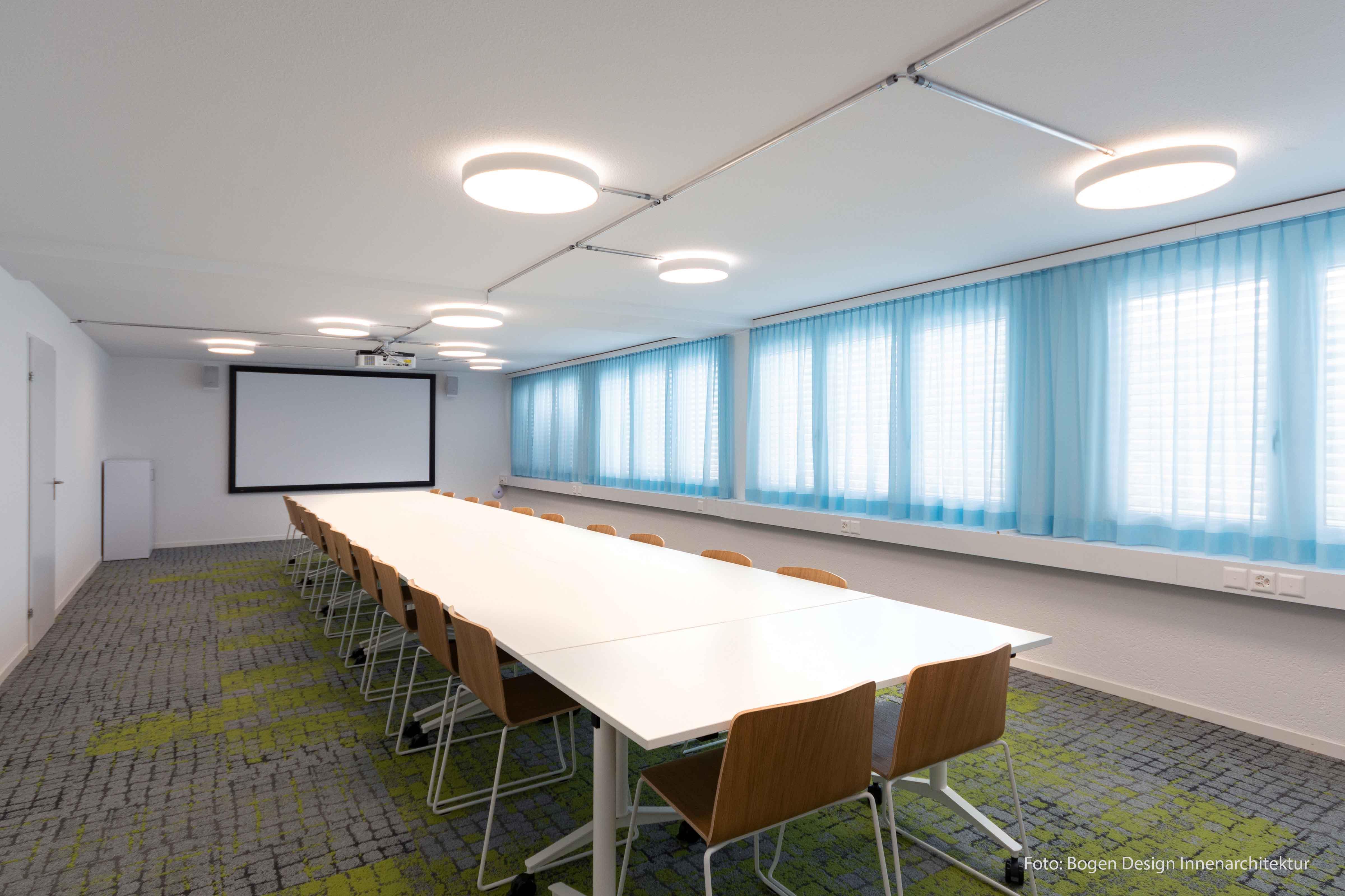 Bild des Konferenzzimmers der Spitex Turgi