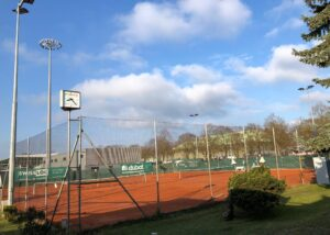 Bild des Tennisplatzes des TC Yverdon