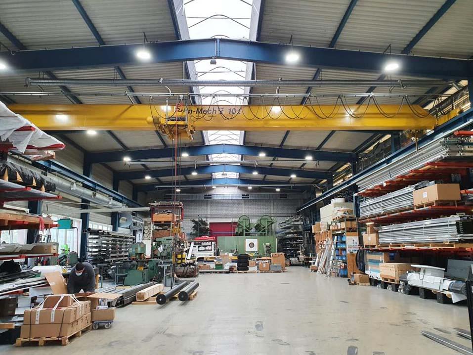 Bild der Industriehalle in der Stawin AG